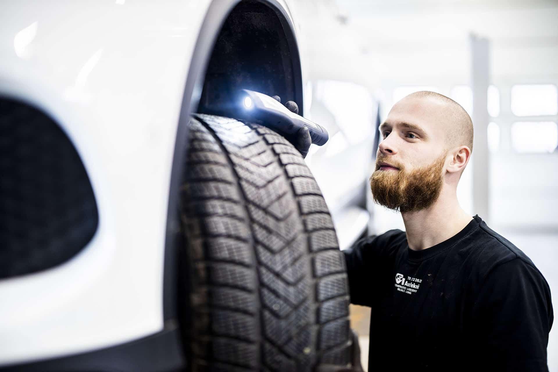 inspektion af hjul